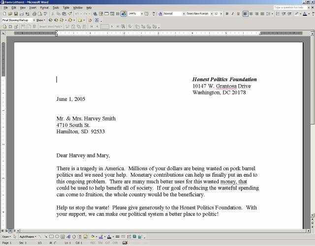 New Microsoft Word Integration – Letter Template Microsoft Word